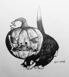 The Cat and the Pumpkin