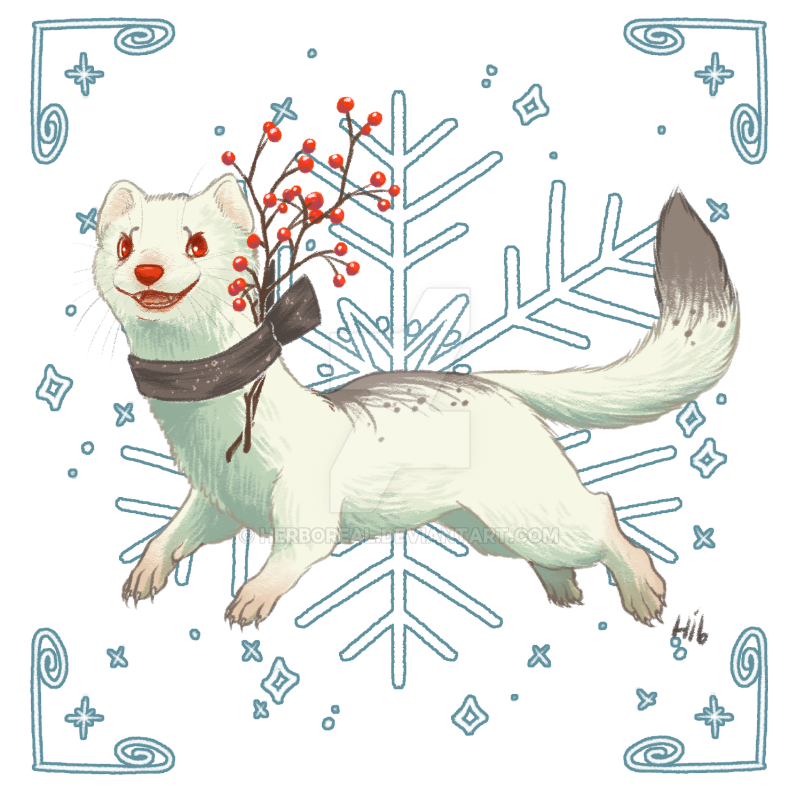 Advent Calendar 2016 Day 2: Winter Berries by Herboreal