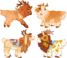 MORE Bep Fall Minis! [Closed] by Herboreal