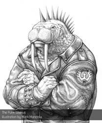 The Punk Walrus by mandolia