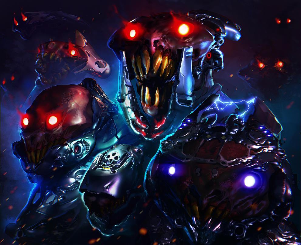 Aliens by inzvy