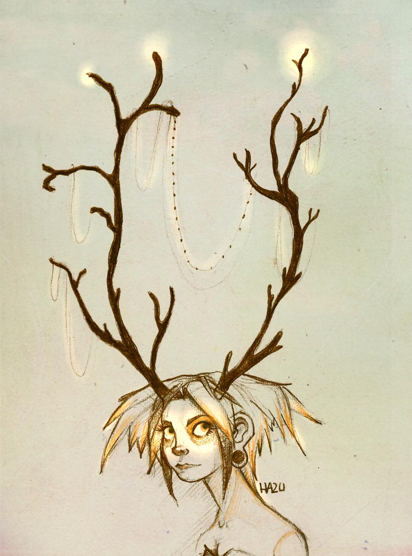 deer by hazumonster
