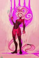 pink by hazumonster