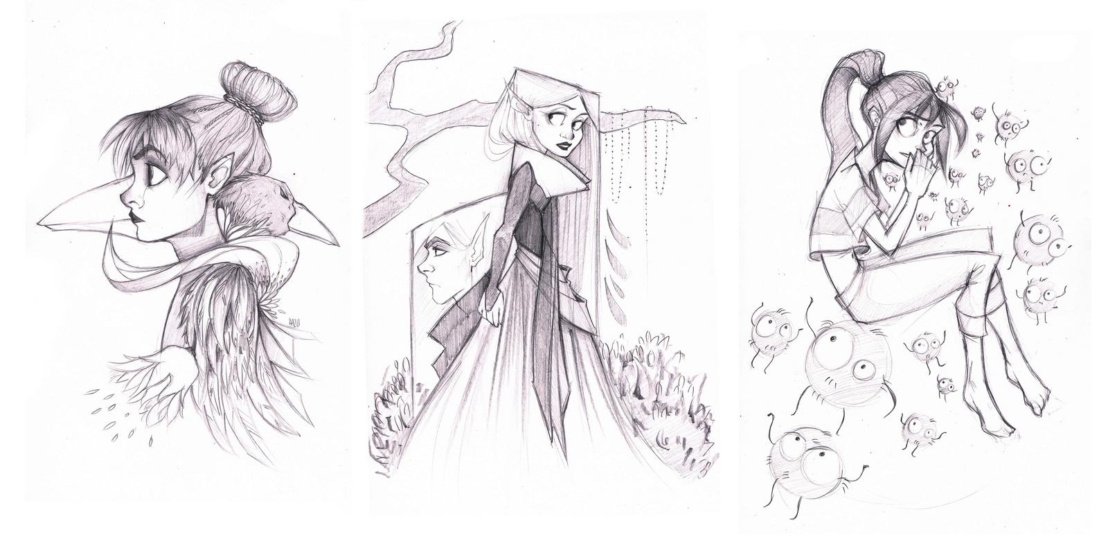 sketchies 01 by hazumonster