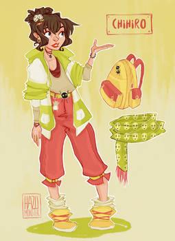 Modern Day Ghibli - Chihiro