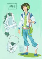 Modern Day Ghibli - Haku by hazumonster