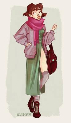 Modern Day Ghibli - Sophie