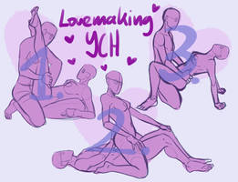 [YCH] LOVEMAKING Your Character Here DISCOUNT by hazumonster