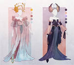 [CLOSED] Outfit Adopt [#4-5] [fantasy gown]