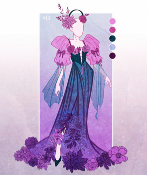 [OPEN] Outfit Adopt [#13] [spring flowers]