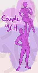 [YCH] Lifting her up couple ych [3 slots]