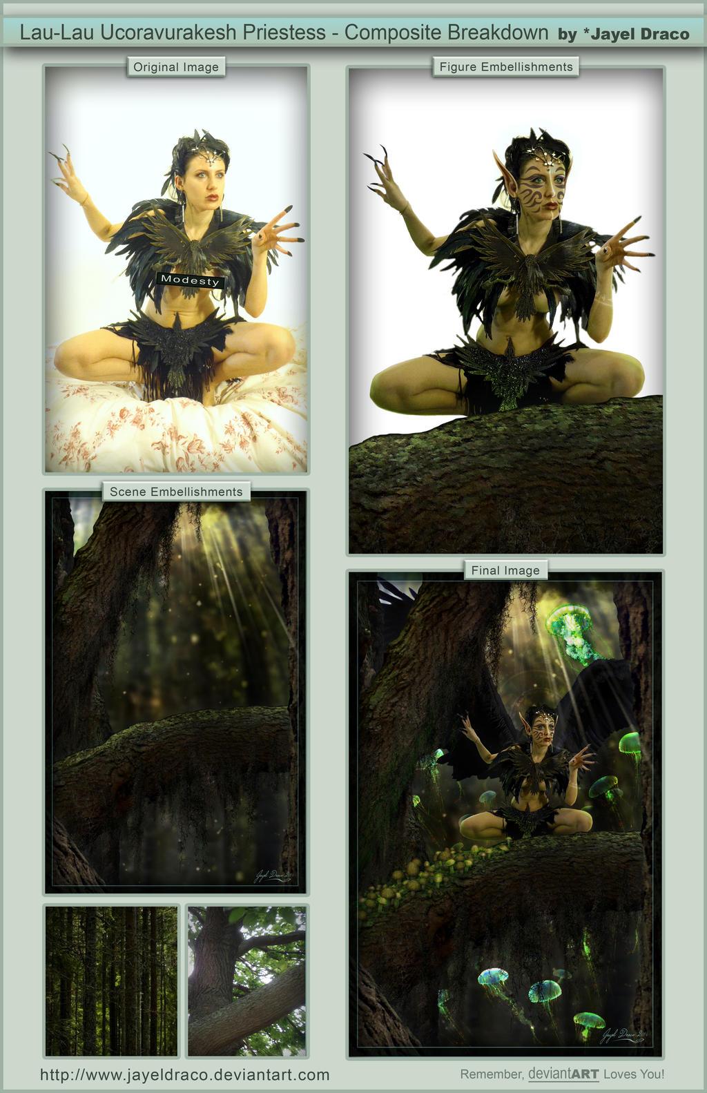 Lau-Lau Ucoravurakesh Priestess - Break Down