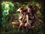 LaAchsellyn-and-AhShaye by Jayel-Draco