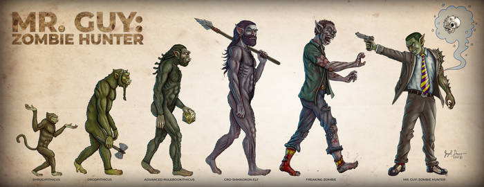 Mr. Guy: Evolution of A Hero