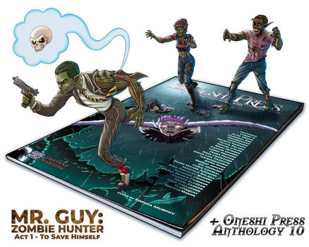 Mr. Guy: Running from Zombies