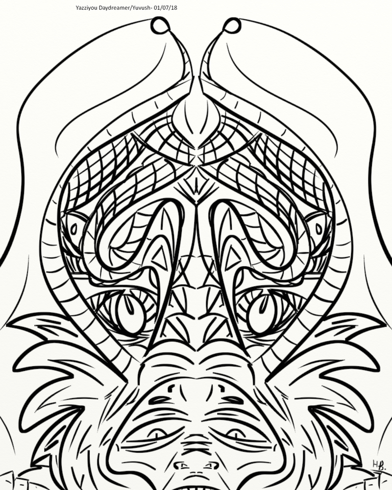 Crowned Baboon Coloring page by yuvush on DeviantArt
