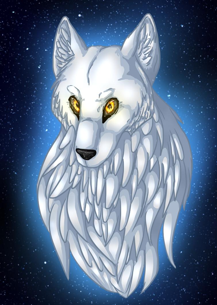 The White Wolf by MysticalFiregirl