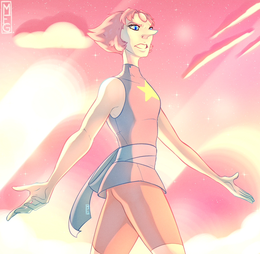 AYO Look, more pearl!! I got inspired by a friend's SU-themed art and had this great screenshot  from ''Do it for her'' that I rly liked so I did a screenshot redraw of it!! Even replicated th...