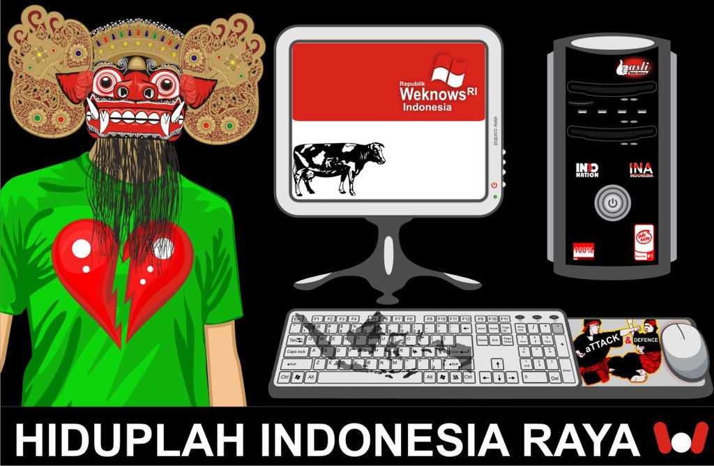 Hiduplah Indonesia RAYA by weknow