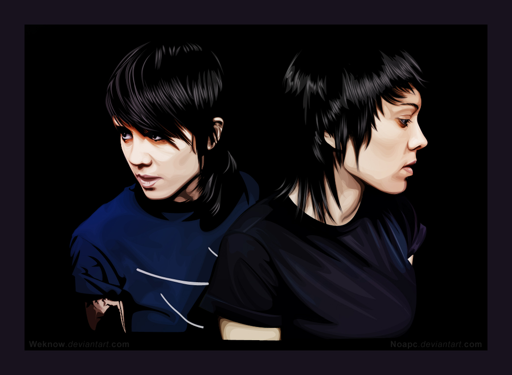 TeganandSarawith noapc by weknow