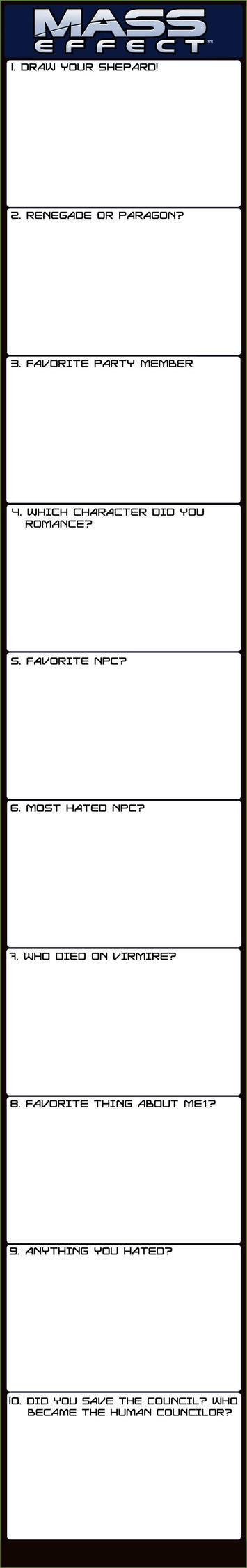 Mass Effect Meme blank by Alvadea