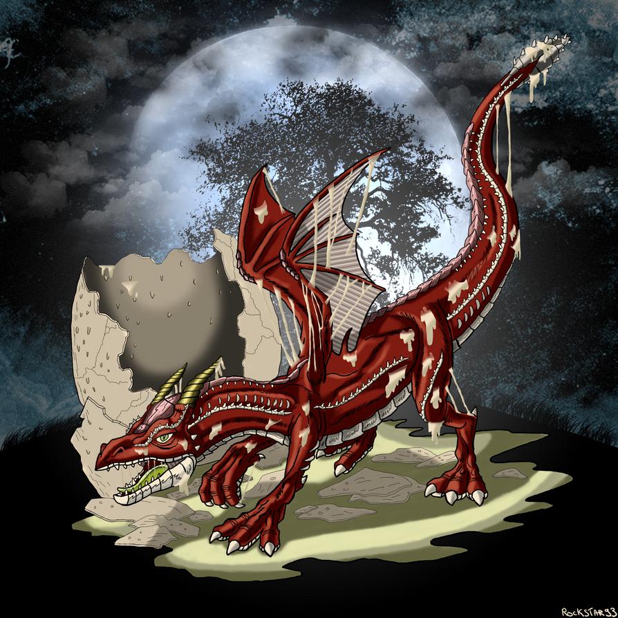 The birth of a dragon by ROCKSTAR93220