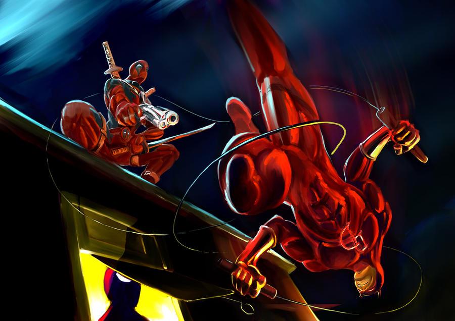 DD vs Deadpool by b0sley