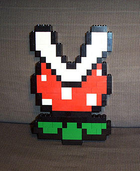 LEGO Piranha Plant by gloriouskyle