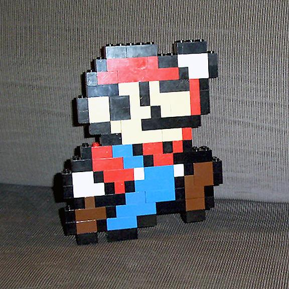 Super Mario LEGOS. by gloriouskyle
