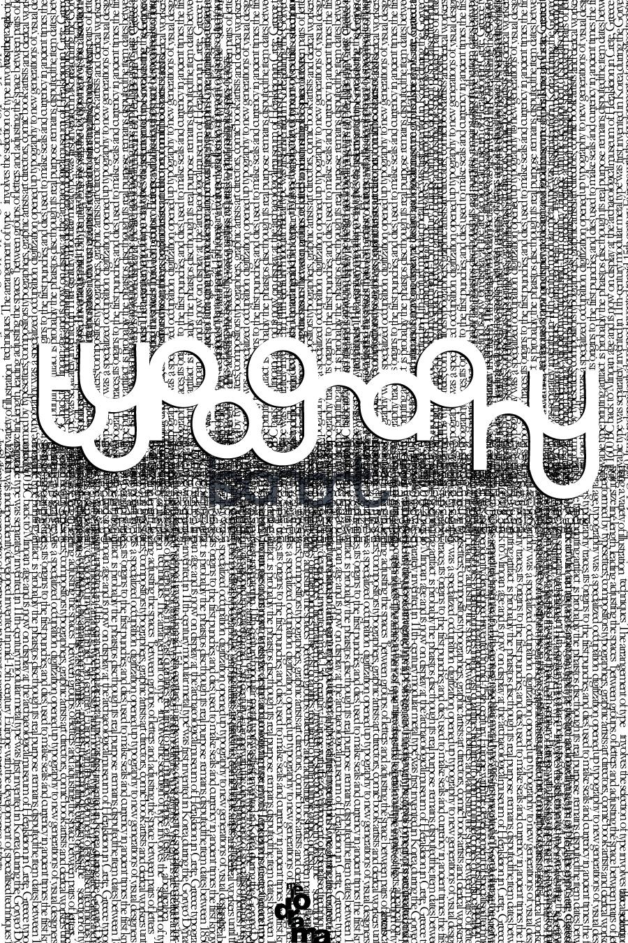 Tipografi Çalışmalarım