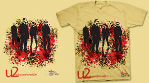 3th T-Shirt for U2