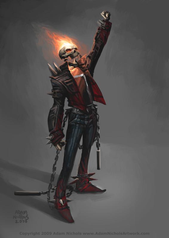 Ghost Rider By Autaux On Deviantart