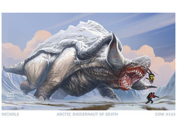 Cow143: Arctic Juggernaut by Autaux
