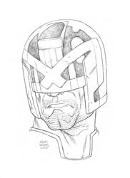 $25 Judge Dredd Sketch by Autaux