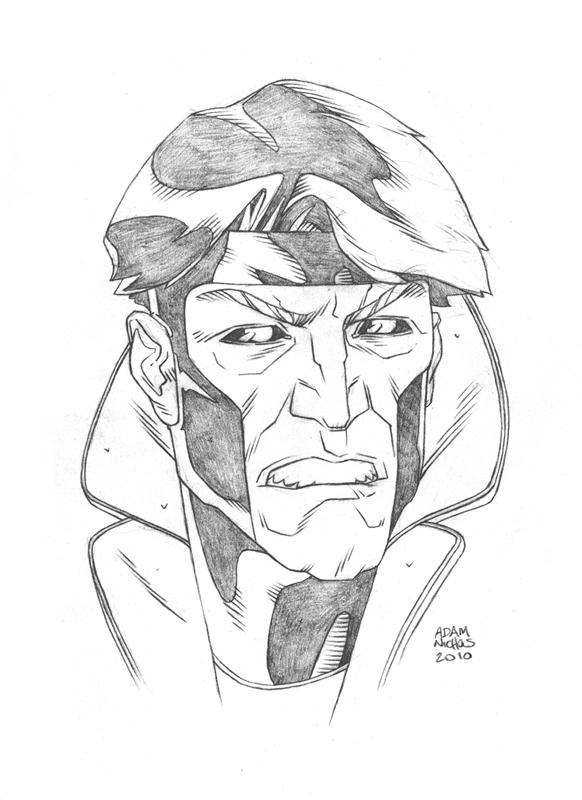 $25 Gambit Sketch by Autaux