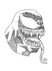 $25 Venom Sketch by Autaux