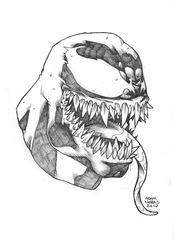 $25 Venom Sketch by Autaux