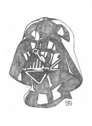 $25 Darth Vader Sketch