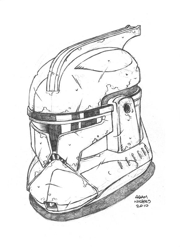 $25 Clone Trooper Sketch by Autaux