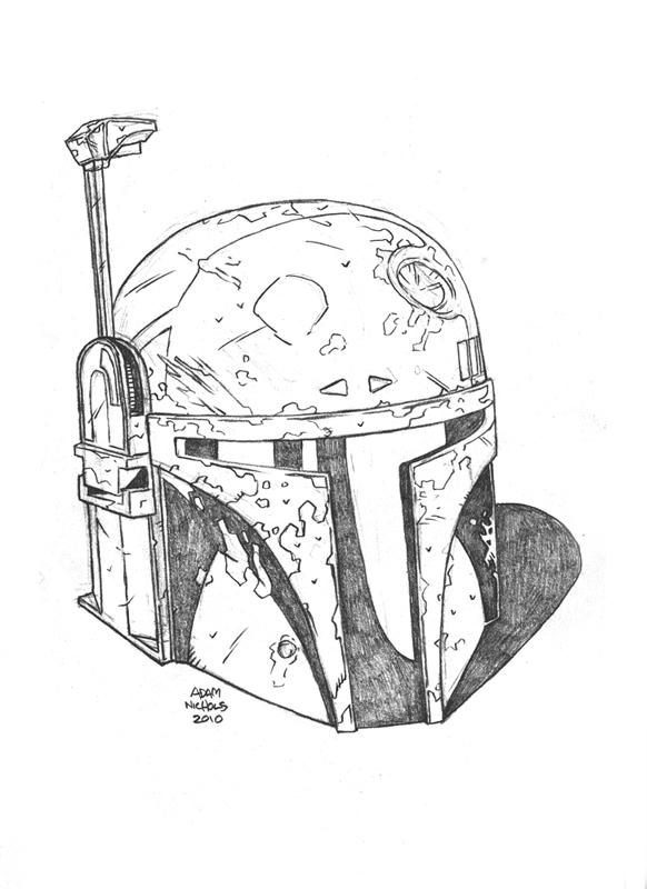 $25 Bobba Fett Sketch by Autaux
