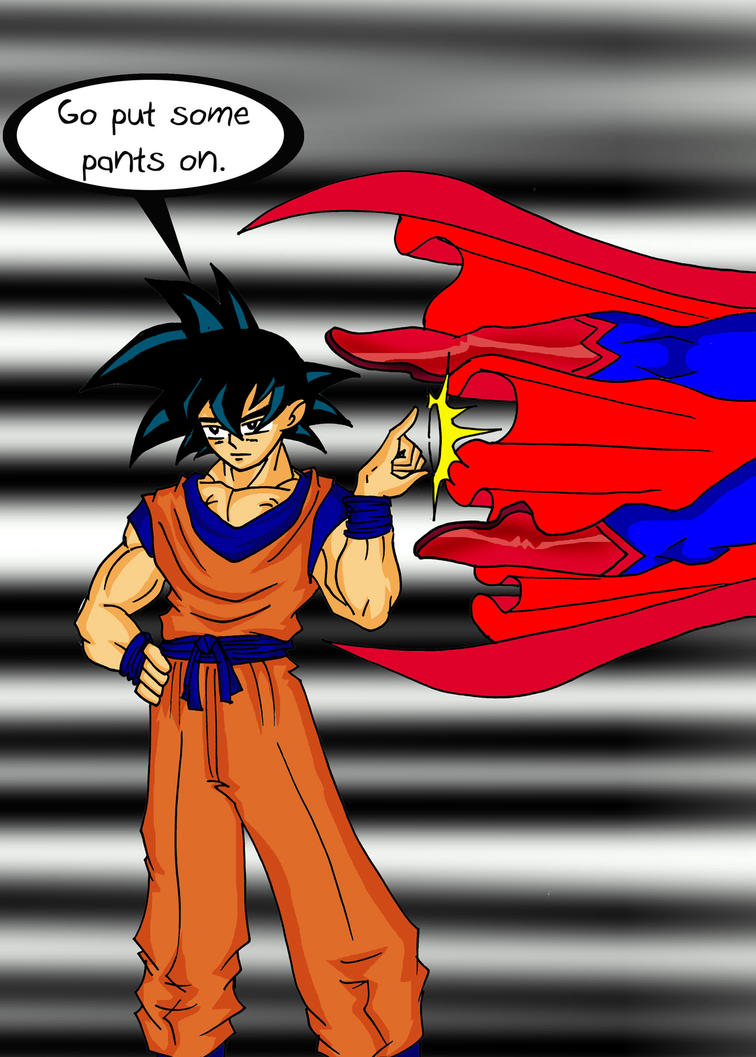 Superman VS Goku 1 by archangemon on DeviantArt