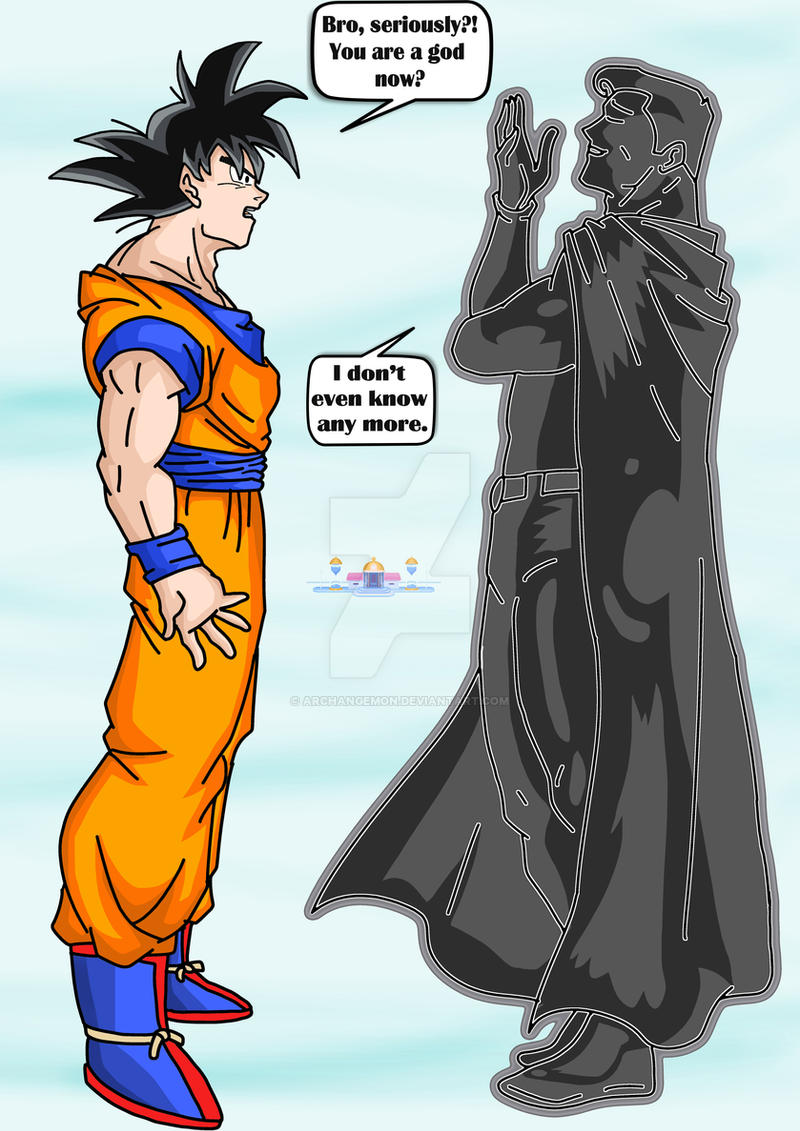 Goku Vs Superman 4 by archangemon on DeviantArt