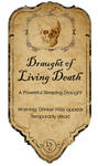 Draught of living Death label