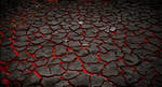 Premade Magma and Cracked Earth Stock