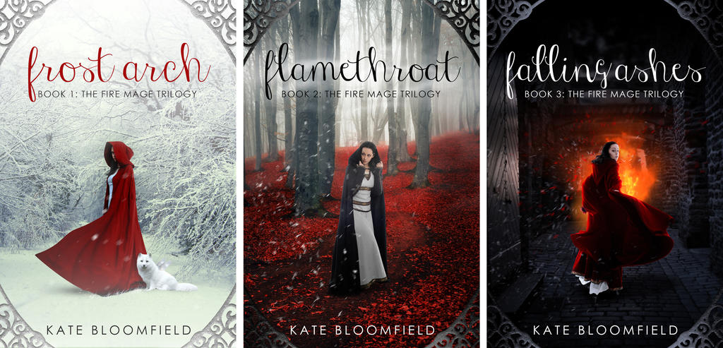 The Fire Mage Trilogy Bookset by KateBloomfield