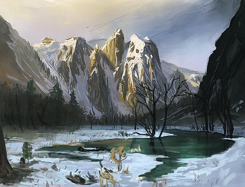 Master Study Albert Bierstadt By Jeffps On Deviantart