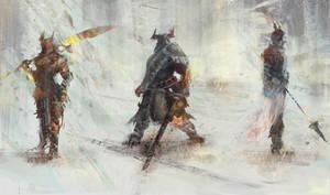 Warriors by jeffps