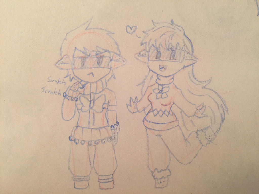 Sweater series wryn and kern by NishiChan