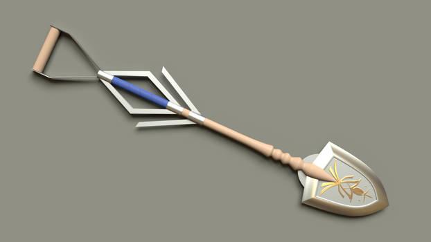 Gravekeeper's shovel