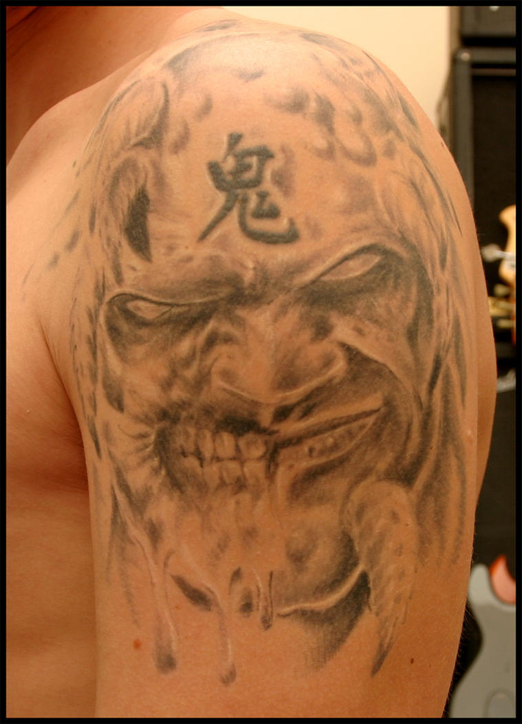 Tattoo ideas by wesley davidson for Two faced tattoo